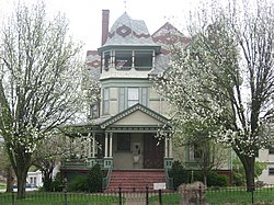 The William W. Gray House, a local landmark