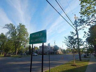 Williamsville, New York Village in New York, United States
