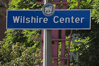Wilshire Center, Los Angeles Neighborhood of Los Angeles in California, United States of America