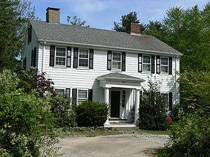 Edmund Parker Jr. House - Image: Winchester MA Edmund Parker Jr House