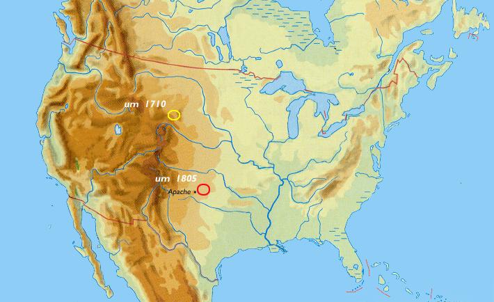 Wohngebiet Kiowa-Apachen