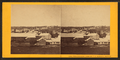 Wolfboro Village, View looking West from Pavilion, by Clifford, D. A., d. 1889.png