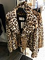 Woman's jacket in faked leopard fur skin (for sale in Stord, Norway) IMG 6030.jpg