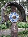Wooden Church Birth of Virgin Mary in Ieud Deal 2011 - Cemetery Cross.jpg