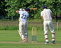 Woodford Green CC v. Hackney Marshes CC at Woodford, East London, England 131.jpg