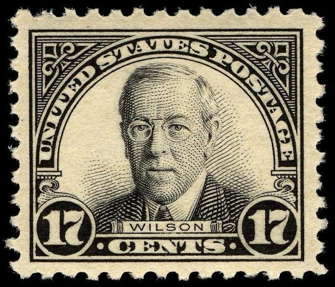 Woodrow Wilson 1925 Issue-17c