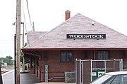 Woodstock Illinois Railroad Station 01