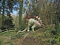 Wookey Hole, dinosaur in the park. - geograph.org.uk - 1206637.jpg