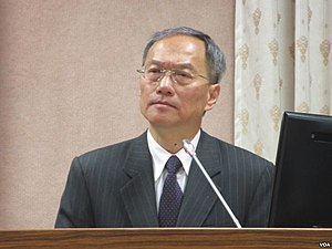 Overseas Community Affairs Council - Wu Hsin-hsing, the incumbent Minister of Overseas Community Affairs Council.
