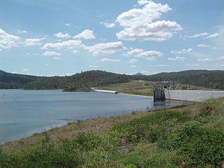 Wyaralong Dam dam in South East Queensland