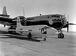 X-1 on the Ramp with the B-29 Mothership - E-9.jpg