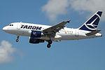 YR-ASC A318 Tarom (14784384461).jpg
