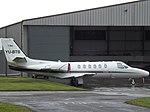 YU-BTB Cessna Citation Bravo 550B Airpink (35247814464).jpg