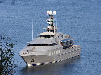 Skat (yacht) - Skat in Pitons Bay, St Lucia, 21 April 2011