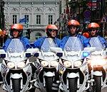 Yamaha FJR1300 Belgian police