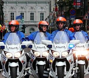 Yamaha FJR1300 - Image: Yamaha FJR1300 Belgian police