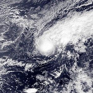 2003 Pacific typhoon season - Image: Yanyan Jan 19 2003 038Z