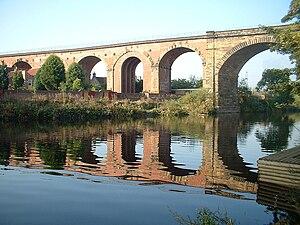 Yarm - Image: Yarm Viaduct