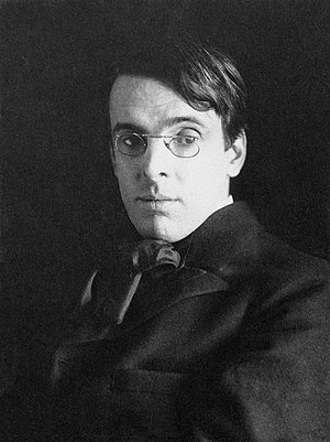 W. B. Yeats - William Butler Yeats photographed in 1903 by Alice Boughton