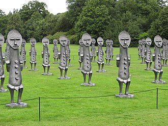 Zak Ové - Black and Blue: The Invisible Man and the Masque of Blackness, Yorkshire Sculpture Park