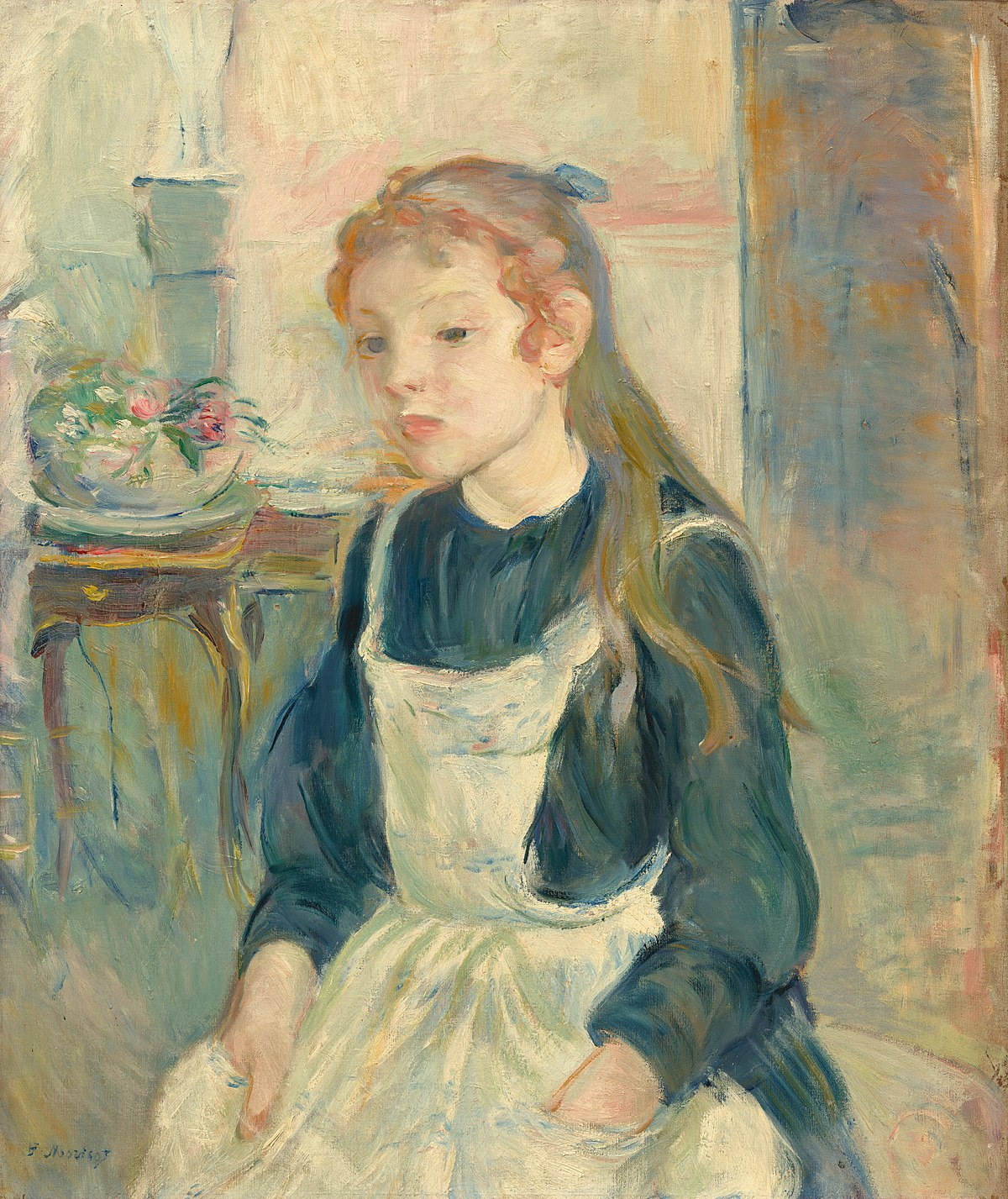 Young Girl with an Apron - Wikidata
