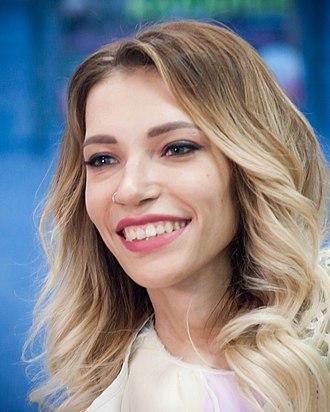 Yuliya Samoylova (singer) - Yuliya Samoylova in May 2018