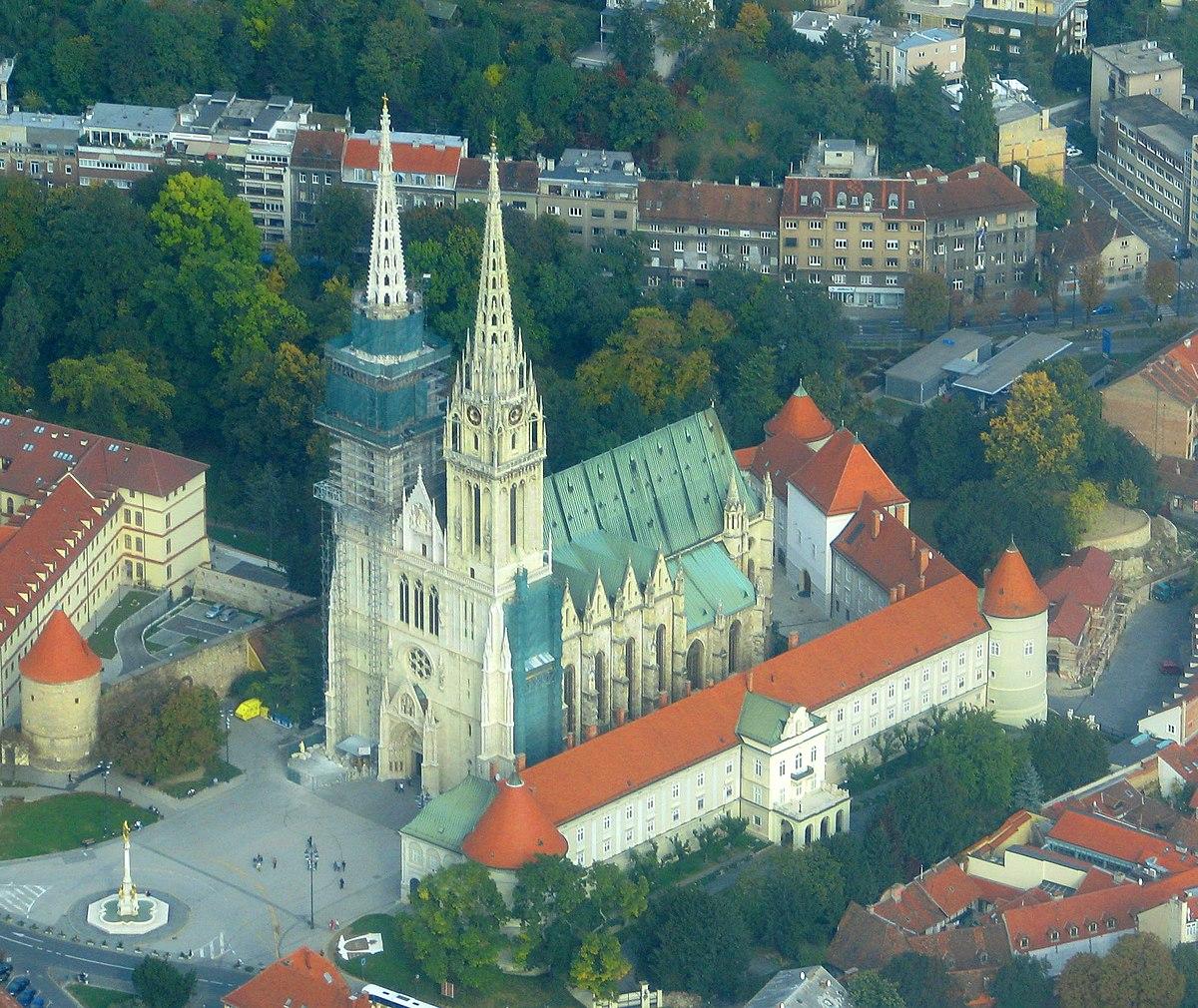 Kathedrale von zagreb wikipedia for Bilder von gartenteichen