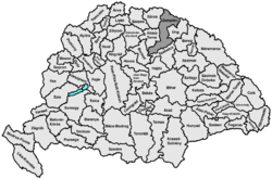 Location of Земплин
