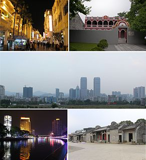 Zhongshan Prefecture-level city in Guangdong, Peoples Republic of China