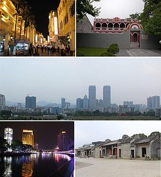 Zhongshan - Image: Zhongshan montage