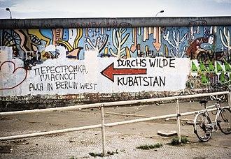 Wall - Berlin Wall, 1988.
