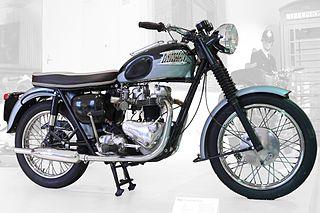 Triumph Bonneville motor cycle