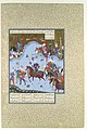 """Firdausi's Parable of the Ship of Shi'ism"", Folio 18v from the Shahnama (Book of Kings) of Shah Tahmasp MET DP107176.jpg"