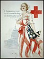 """I summon you to comradeship in the Red Cross"" - Woodrow Wilson - Harrison Fisher 1918 ; American Lithographic Co. N.Y. LCCN2002712070.jpg"