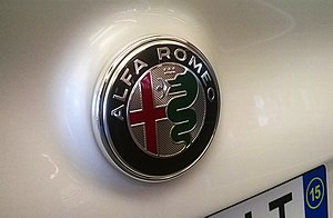 Alfa Romeo Giulia (952) - The restyled company logo, which debuted with the new Giulia