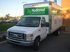 National Car Rental - 2008 Ford E-450 from National Car Rental.