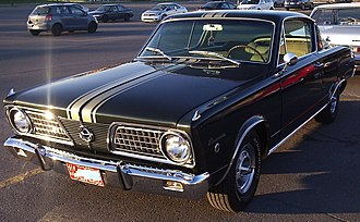 Plymouth Barracuda - 1966 Plymouth Barracuda