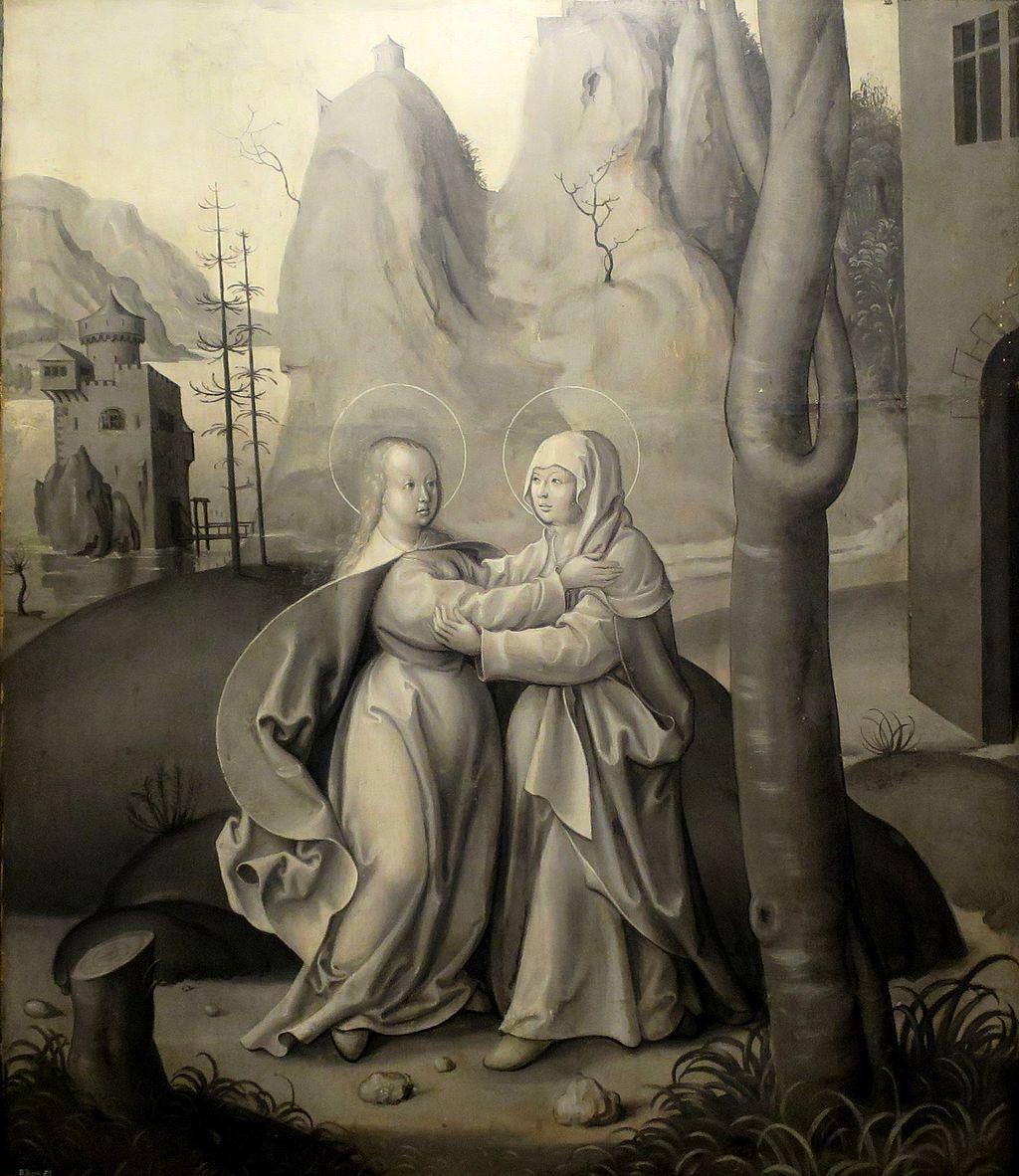 """'Мэри Элизабет посетила """", неизвестный немецкий художник, Bergen Kunstmuseum.JPG"""