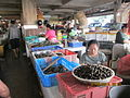 'Shell fish & Molluscs' section in Denpasar market.JPG