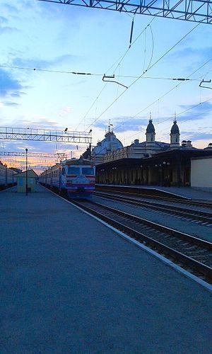 Zhmerynka - Railway Station in Zhmerynka
