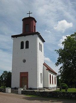 Äspinge kirke i juni 2012