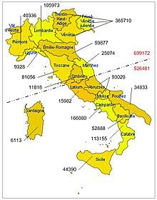 Italo brasiliani wikipedia for Numero dei parlamentari italiani