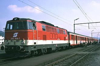 Austrian Federal Railways - Image: ÖBB 2143 008 7 1