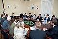 Ārlietu komisijas deputāti tiekas ar Azerbaidžānas Republikas Milli medžilisa Azerbaidžānas - Latvijas parlamentu sadarbības grupu (8161149429).jpg