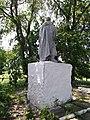 Братська могила у селі Червоний Степ Сахновщинського району Харківської області, вид ззаду.jpg