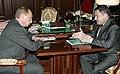 Владимир Путин в 2006 году с Михаилом Прусаком.jpg