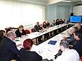 Встреча в Управлении государственной службы занятости населения Мурманской области. Март 2012 года..JPG