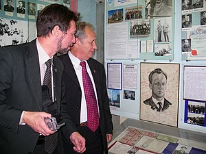 Arkady Ostashev - In the Museum at the site № 2 of the Baikonur cosmodrome