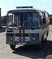 Газоспасательный автобус ПАЗ. СПАСС, Коряжма.JPG