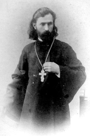 Portrait de Gapone (en 1900).